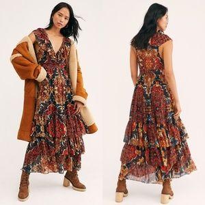 Free People Wear It Out Midi Dress